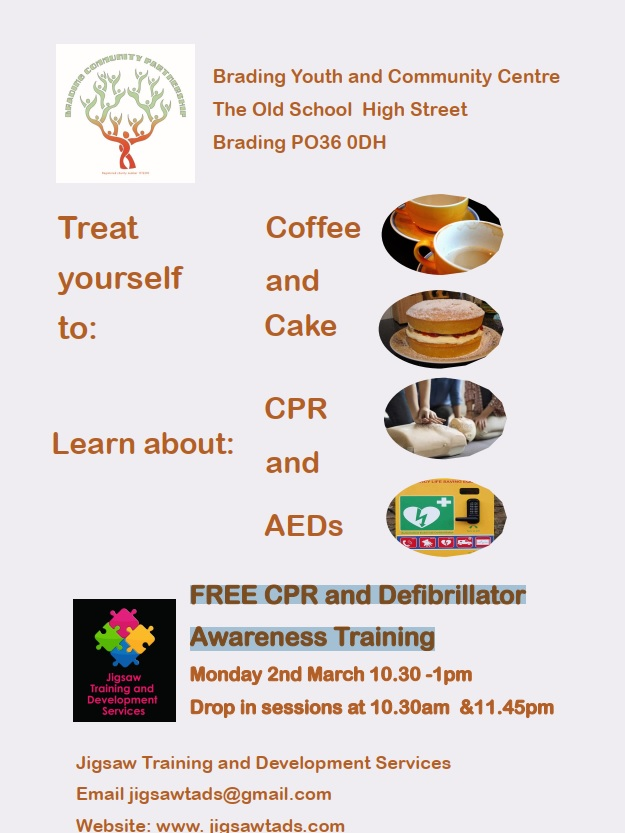 FREE CPR and Defibrillator Awareness Training