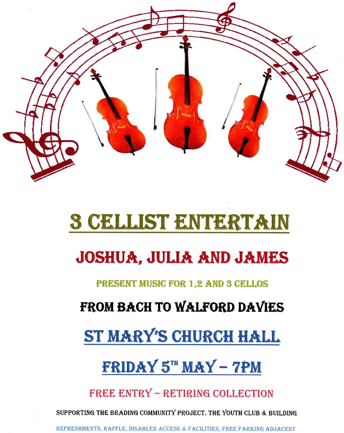 3 Cellist Entertain
