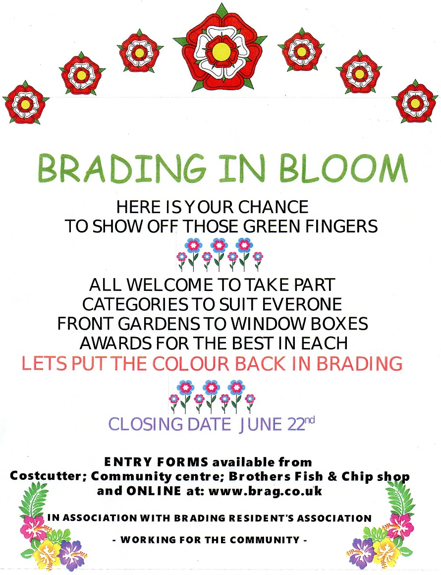 Brading in Bloom 2019