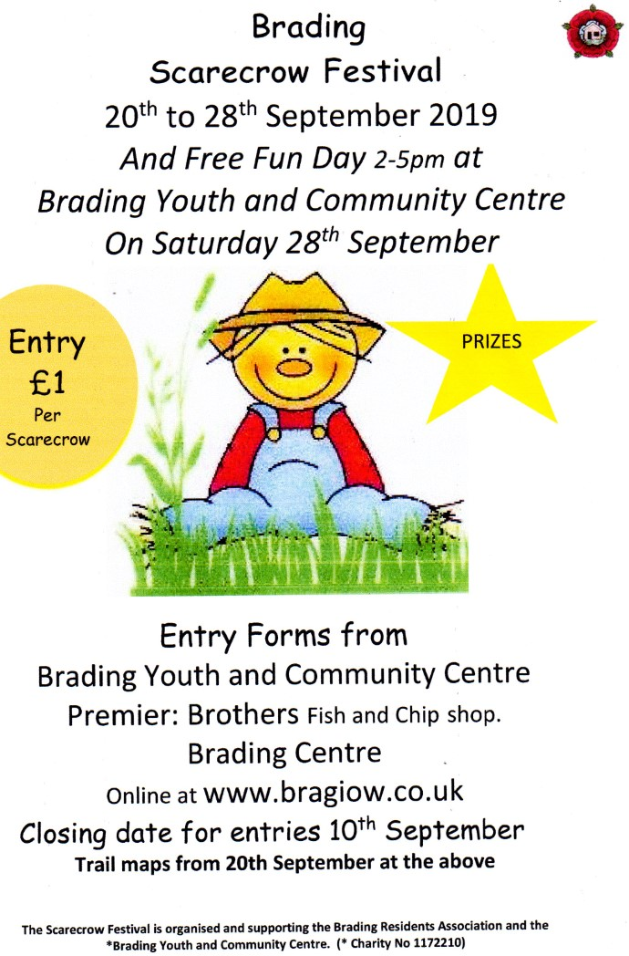 Brading Scarecrow Festival - 20th to 28th September 2019